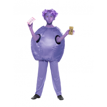 Roald Dahl Deluxe Violet Beauregarde Costume Fancy Dress