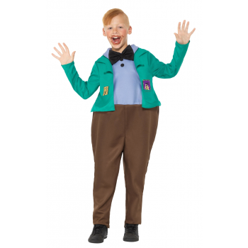 Roald Dahl Deluxe Augustus Gloop Costume Fancy Dress
