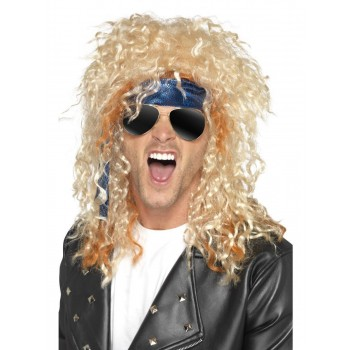 Heavy Metal Rocker Kit Fancy Dress Costume