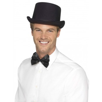 Top Hat, Satin Look Fancy Dress Accessory