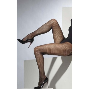 Ladies Black Fishnet Tights