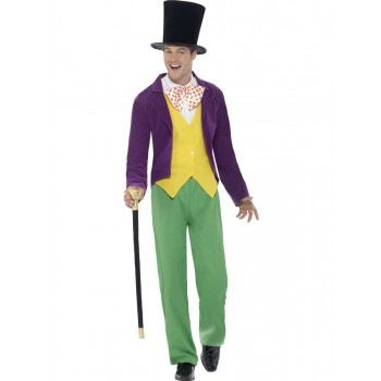 Roald Dahl Willy Wonka Costume Fancy Dress