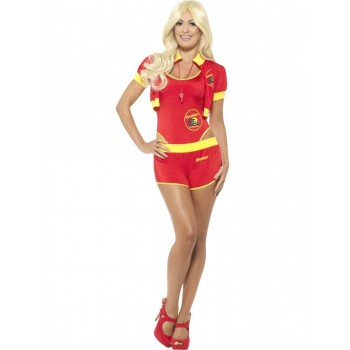Deluxe Baywatch Lifeguard Costume Fancy Dress