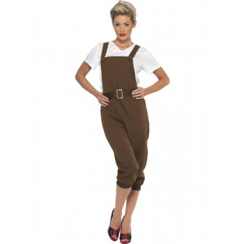 WW2 Land Girl Costume Fancy Dress