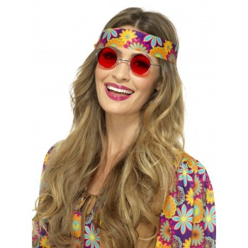 Hippie Specs Fancy Dress Accessory