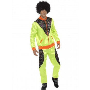 Retro Shell Suit Costume, Mens Fancy Dress