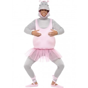 Ballerina Hippo Costume Fancy Dress