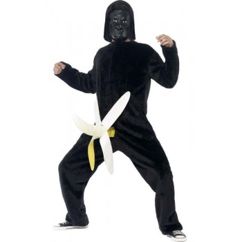 Men'S King Dong Gorilla Stag/Party Fancy Dress Costume