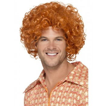 Curly Afro Wig Fancy Dress Accessory