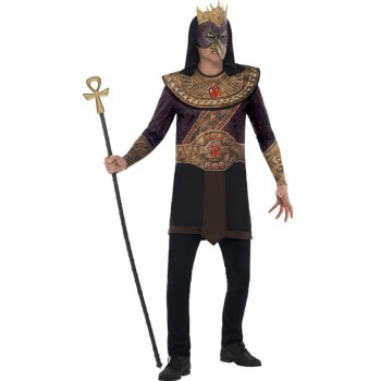 Mens Horus God Of The Sky Egyptian Fancy Dress Costume
