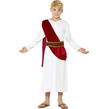 Boys Ancient Roman Fancy Dress Costume