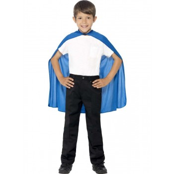 Cape Blue Fancy Dress Costume