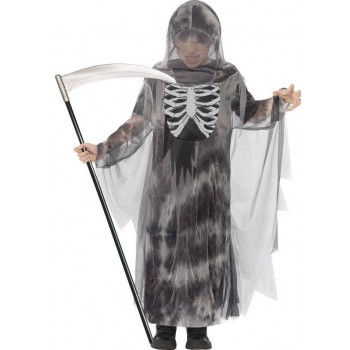 Boy'S Ghostly Ghoul Halloween Fancy Dress Costume
