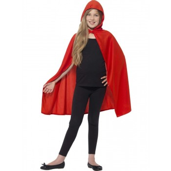 Hooded Cape Fancy Dress Costume