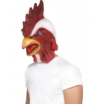 Chicken Mask Fancy Dress Accessory