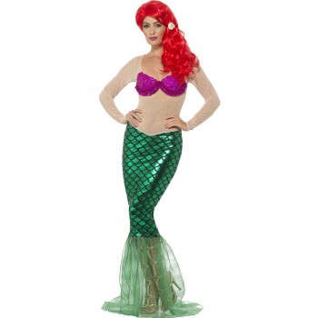 Deluxe Sexy Mermaid Costume Fancy Dress
