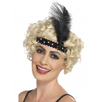 Flapper Headband Fancy Dress Accessory