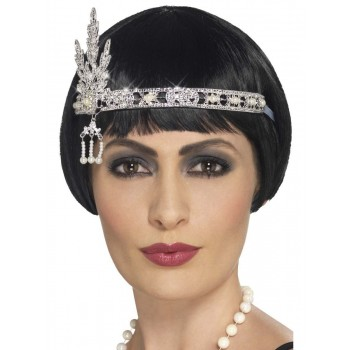 Flapper Jewel Headband Fancy Dress Accessory