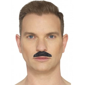 The Chevron Black Moustache Fancy Dress Accessory