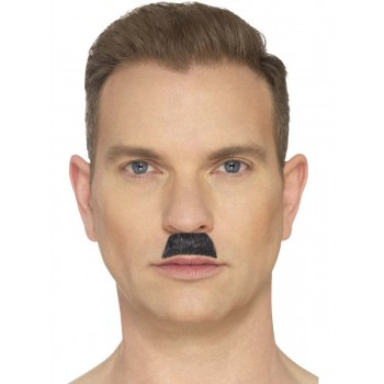 The Toothbrush Moustache Black Fancy Dress Accessory