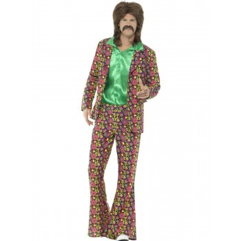 60s Psychedelic CND Suit Fancy Dress Costume