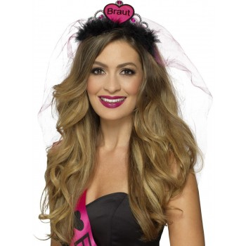 Braut Tiara Fancy Dress Accessory