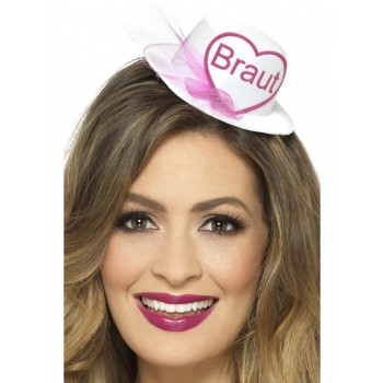 Braut Hat Fancy Dress Accessory