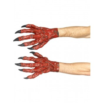 Devil Hands, Latex Fancy Dress Accessory