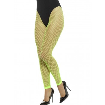 Footless Net Tights Fancy Dress Accessory