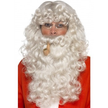 Santa Dress Up Kit Fancy Dress Accessory