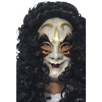 Men'S Venetian Highwayman Halloween Fancy Dress Mask