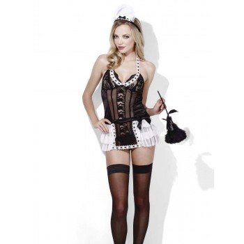 Fever Maid, At Your Service Fancy Dress Costume