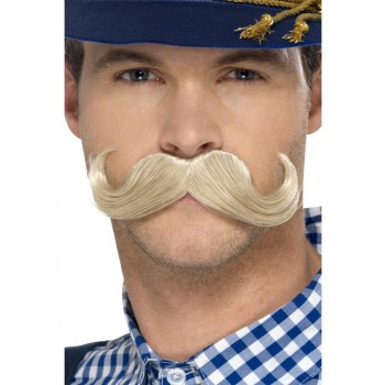 Authentic Bavarian Oktoberfest Moustache Fancy Dress Accessory
