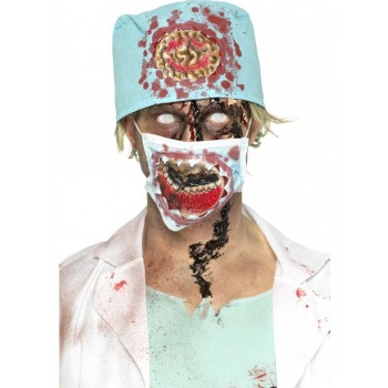 Zombie Surgeon Kit Fancy Dress Costume