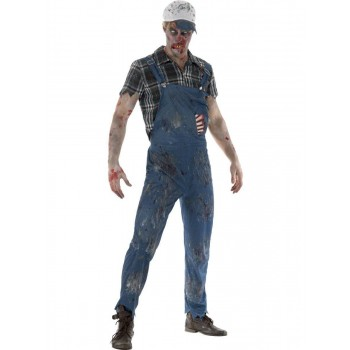 Zombie Hillbilly Costume, Male Fancy Dress