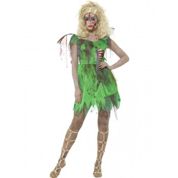 Zombie Fairy Costume Fancy Dress