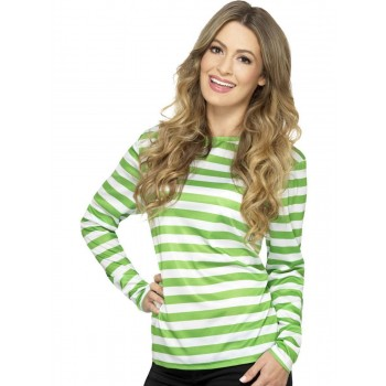 Stripy T-Shirt Fancy Dress Costume