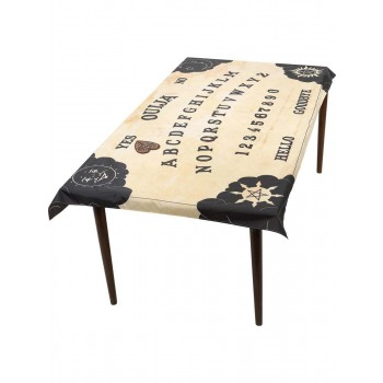 Ouija Board Table Cloth & Planchette Coaster Fancy Dress Accessory