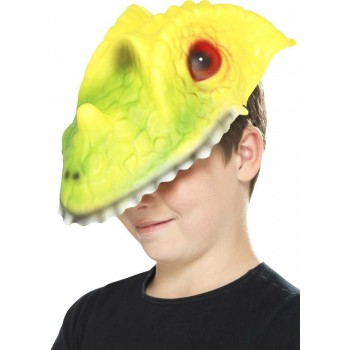 Crocodile Head Mask Fancy Dress Accessory