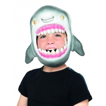 Shark Full Head Mask Fancy Dress Accessory