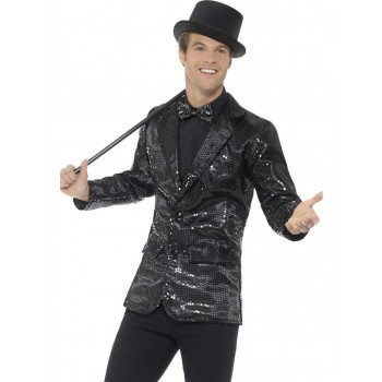Sequin Jacket, Mens Fancy Dress Costume