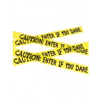 Caution Enter If You Dare Tape Fancy Dress Accessory
