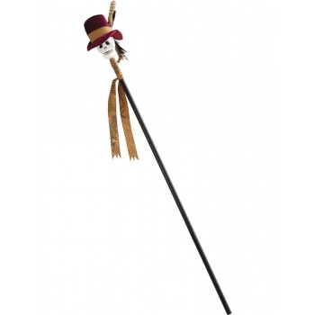 Voodoo Cane Fancy Dress Accessory