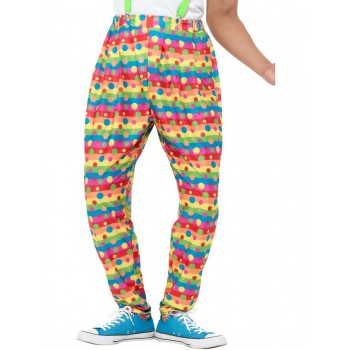 Clown Trousers Fancy Dress Costume