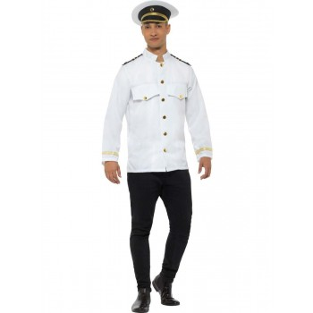 Captain Jacket Fancy Dress Costume