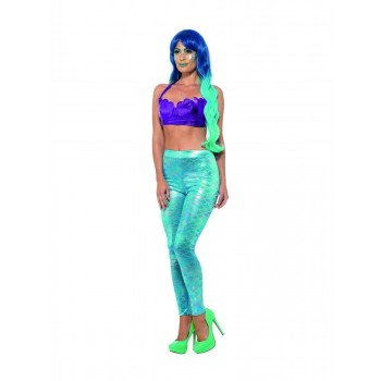 Mermaid Leggings Fancy Dress Costume