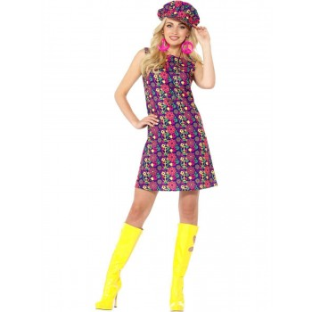 1960s Psychedelic CND Costume Fancy Dress