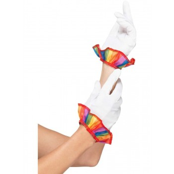 Clown Gloves Fancy Dress Accessory