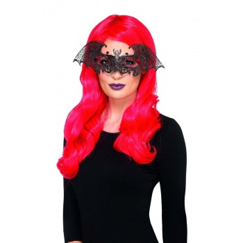 Metal Filigree Bat Eyemask Fancy Dress Accessory