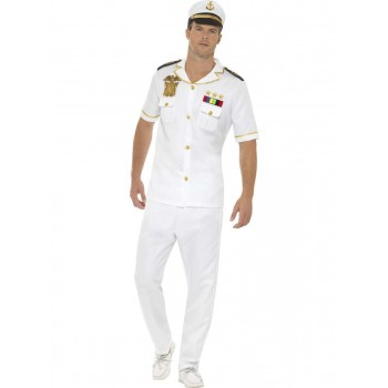 Captain Costume Fancy Dress